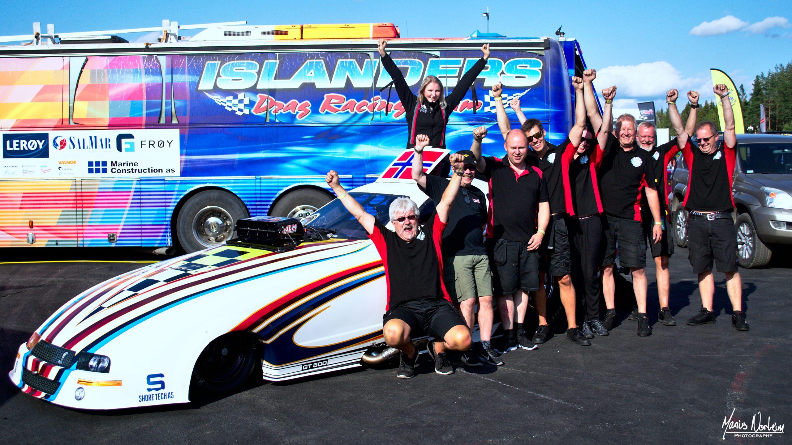 Team Karlsen Motorsport på Gardermoen