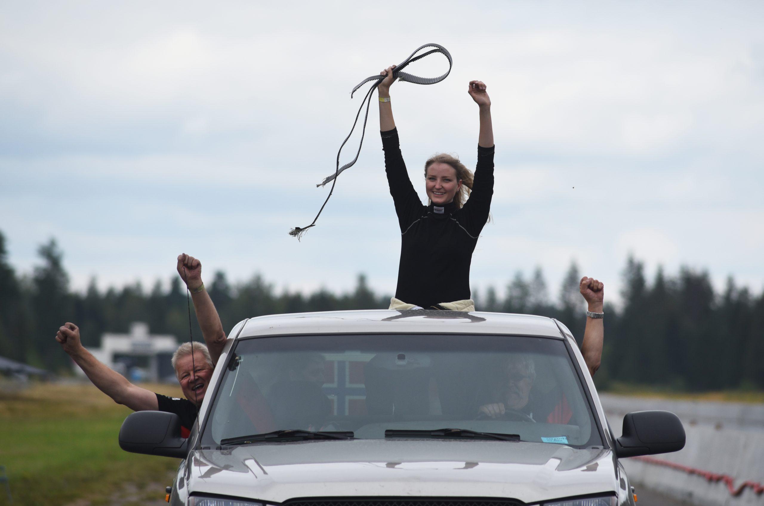 Feiring etter ny banerekord på Gardermoen