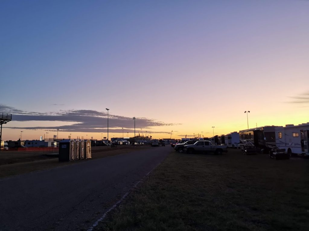 Texas Motorplex Sunset